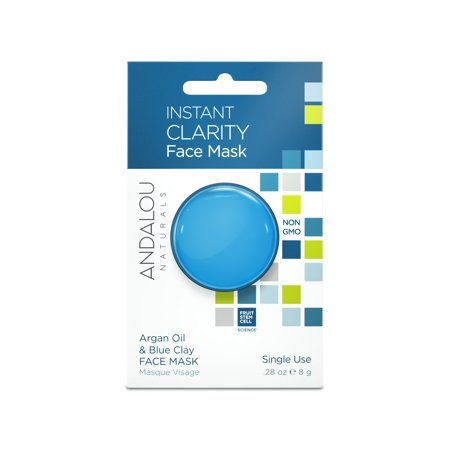 (2 Pack) Andalou Naturals Face Mask, Instant Clarity, 0.28 Oz