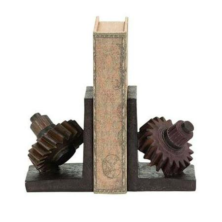 Benzara 55619 rouill- engrenages th-me Book Set Fin - image 1 de 1