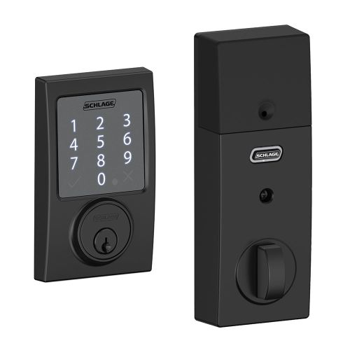 Schlage BE479-CEN Sense Century Touchscreen Deadbolt with Built-in Alarm