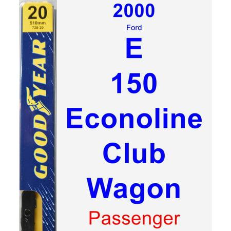 2000 Ford E-150 Econoline Club Wagon Passenger Wiper Blade - Premium