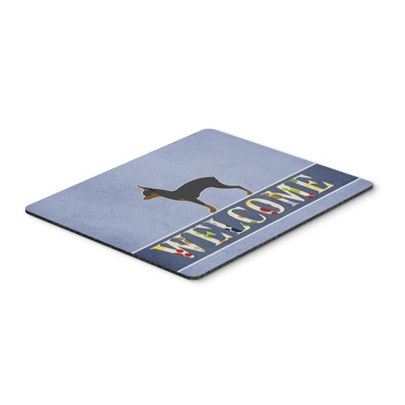 Toy Fox Terrier Welcome Mouse Pad, Hot Pad or Trivet BB5491MP