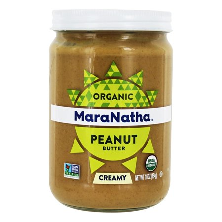 Organic Peanut Butter (MaraNatha Organic No Stir Creamy Peanut Butter, 16 oz. )