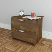 Nocce 2-Drawer Nightstand, Truffle