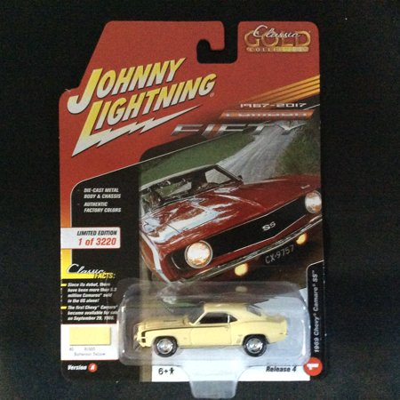 Johnny Lightning JLCG012 Classic Gold Version A 1969 Chevy Camaro (1964 Chevy Impala Ss Lowrider For Sale)
