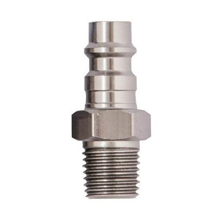 - 1/4 Hi Flow Male Plug 12-925