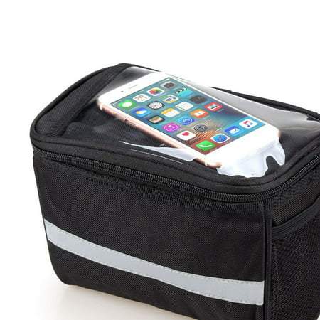 Pannier Inner Bag - Cycling Bike Frame Pannier Front Tube Bag Cell Phone Bicycle Touch Screen New