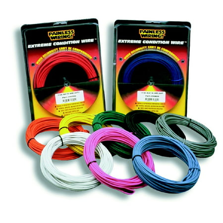 Enjoyable Painless Performance 71716 Pan71716 Wire Txl 12Ga Black 25 Wiring 101 Archstreekradiomeanderfmnl