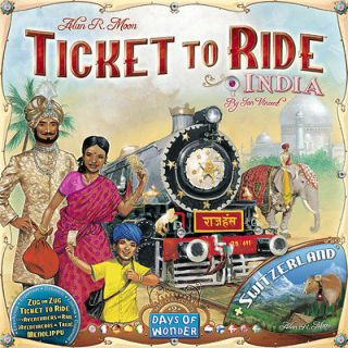 India And Switzerland Ticket To Ride Expansion