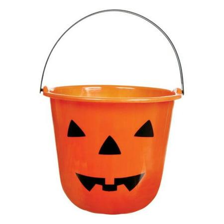 G89797-A Halloween Pumpkin Bucket  Orange - pack of 36 - Halloween Pumpkin Buckets