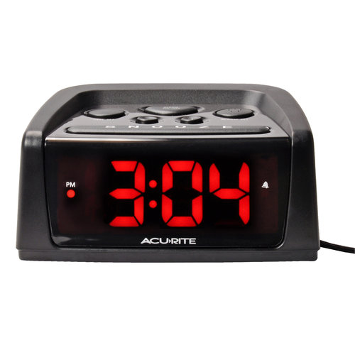 AcuRite Big and Loud Electric IntelliTime Alarm Clock