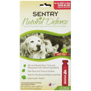 Sentry Natural Defense Flea & Tick Squeeze-On Dog Over 40 Pound