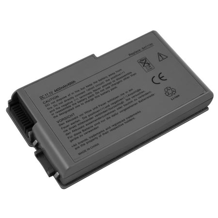 Superb Choice  6-cell DELL Latitude D500 D505 D510 D520 D530 D600 D610 D600 D610 D605 Laptop Battery
