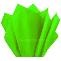 """Lime Green Tissue Paper, 15""""x20"""", 100 ct"""