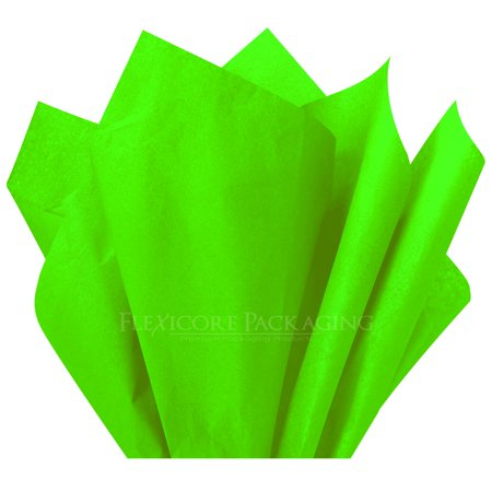 Lime Green Tissue Paper, 15