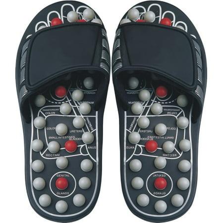 Image of Reflexology Sandals Black Pearl - X Large