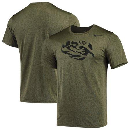 LSU Tigers Nike Tonal Logo Legend Performance T-Shirt - Olive