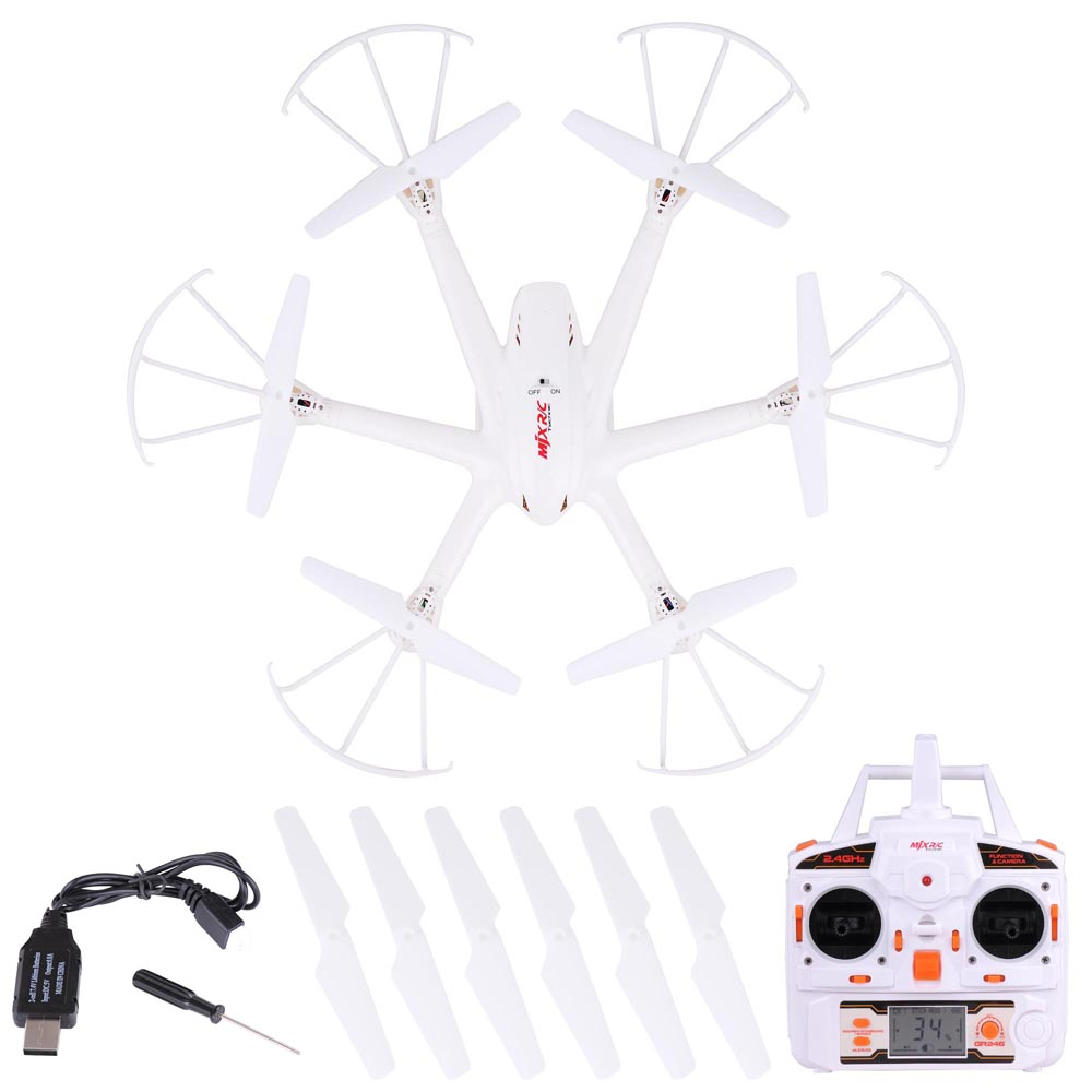 2.4G 6 Axis FPV WiFi Helicopter w/ Remote Control 4 Channels hexacopter For Aerial Photo Hobby