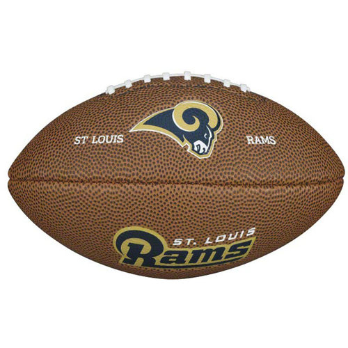 "NFL - St. Louis Rams 9"" Mini Soft Touch Football"