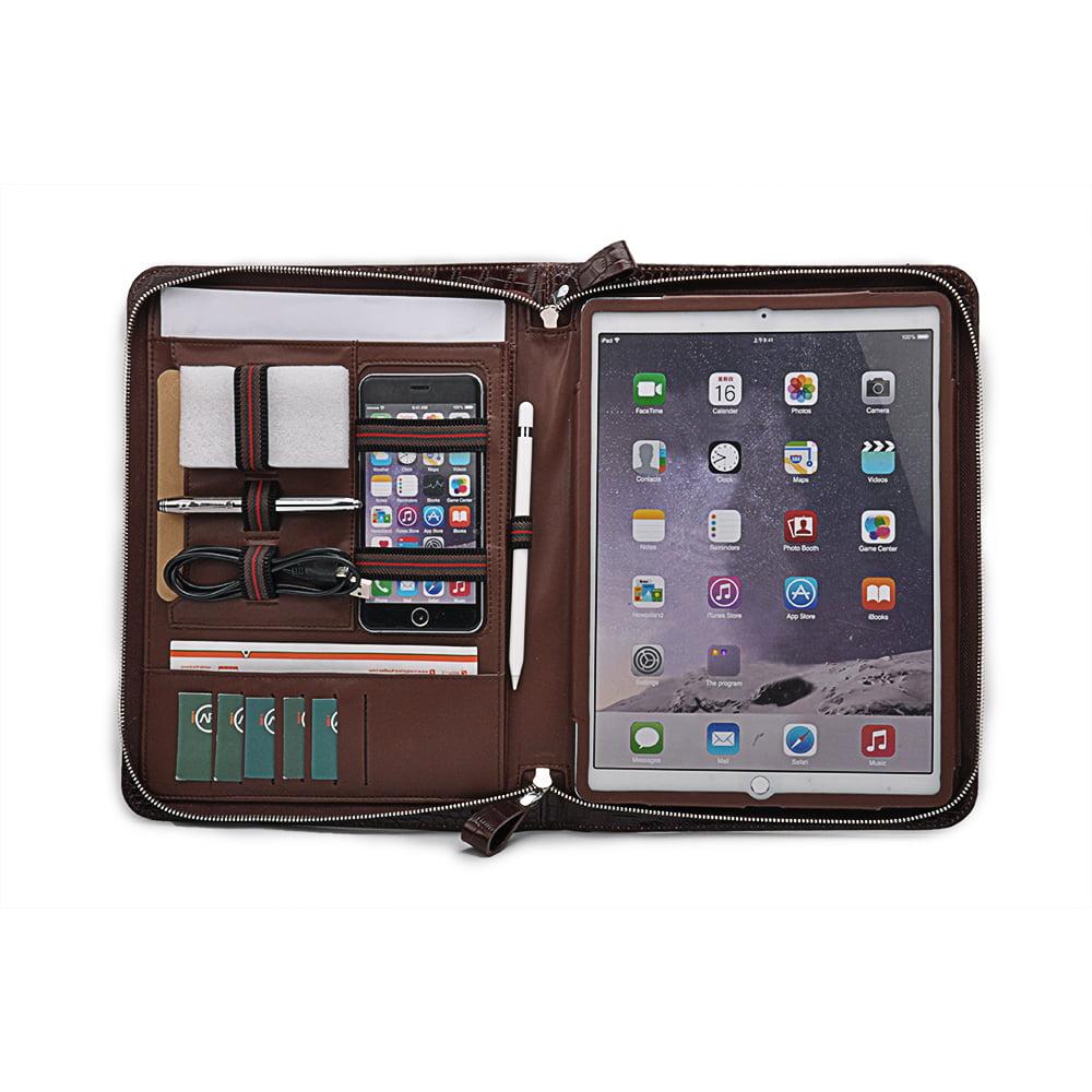 The New iPad Pro Folio Case, Croc-Pattern Leather ...