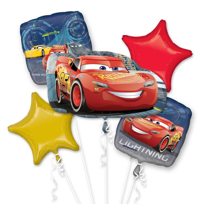 Disney Cars Lightning McQueen Hooded Towel By Disny