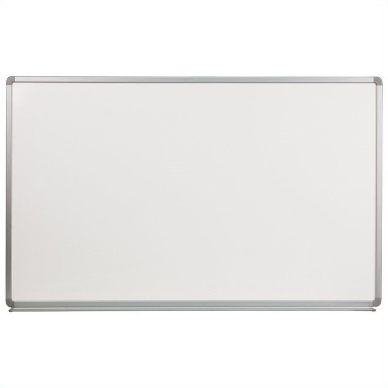 "Flash Furniture 36"" x 60"" Porcelain Magnetic Marker Board in White - image 1 of 1"
