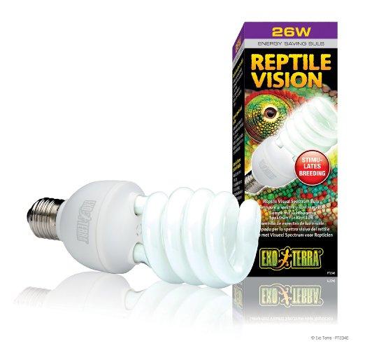 Exo Terra Reptile Vision Compact Fluorescent Lamp, 26-watt
