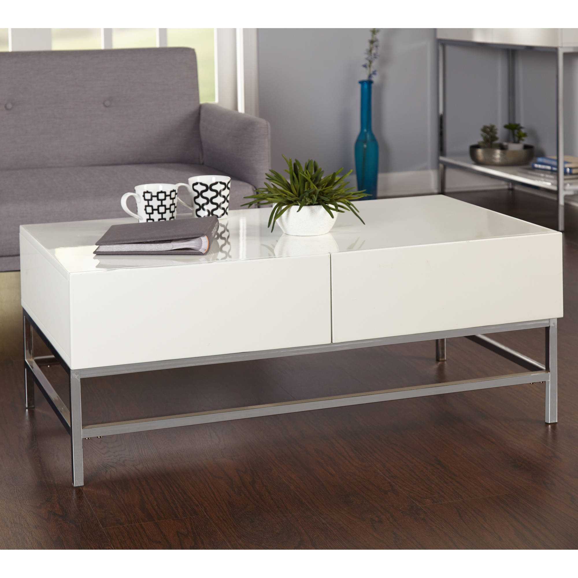 Lewis Occasional Coffee Table, White