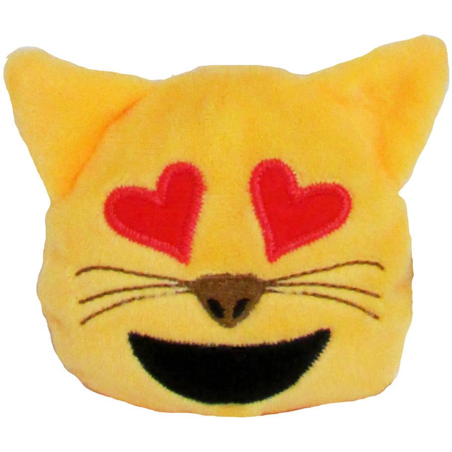 Emoji Bean Bag, Cat with Heart Eyes