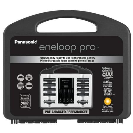 Panasonic eneloop pro Pack - 8AA + 2AAA + 4-position