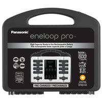 Panasonic eneloop pro Pack - 8AA + 2AAA + 4-position charger
