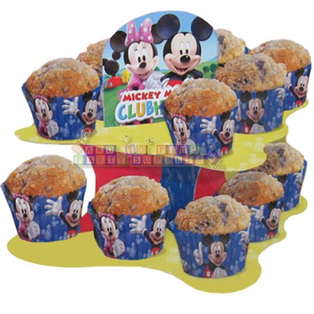 Mickey Mouse Clubhouse Cupcake Snack Stand (1ct)
