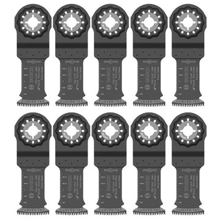 """1-1/4"""" Starlock Xtra-Clean Wood Plunge Cut Blades (Pack of 10)"""