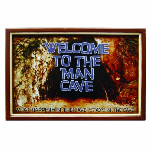 Room Wall Decor - Welcome To The Man Cave