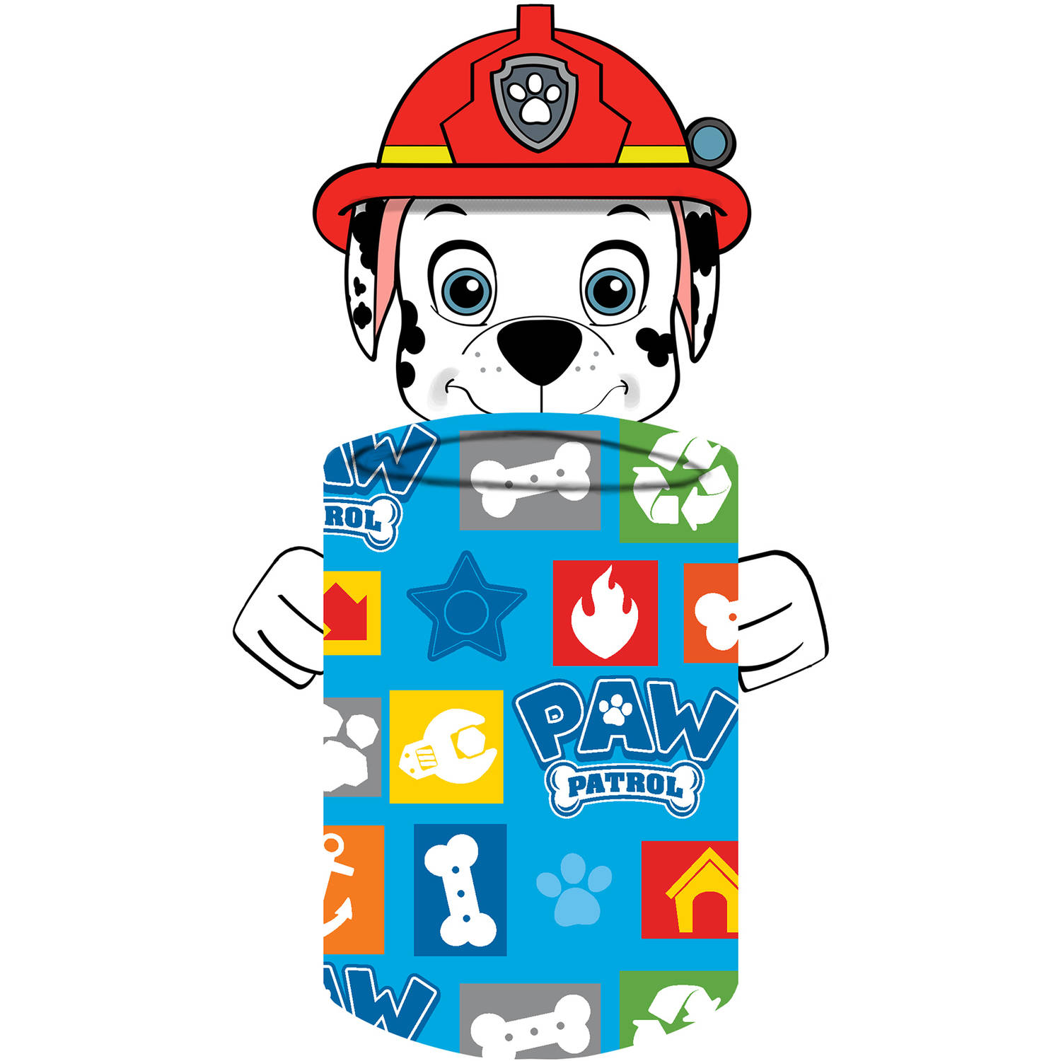 Paw Patrol Marshall Hugger Pillow with Throw