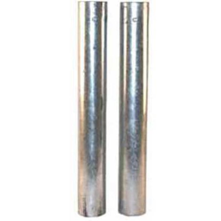 Galvanized Steel Ground Sleeves, Round