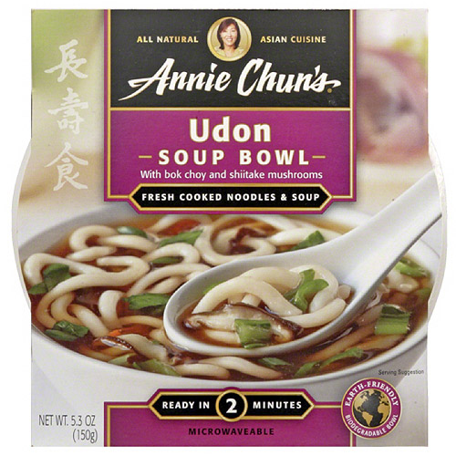 Annie Chun's Udon Soup Bowl, 5.9 oz (Pack of 6)