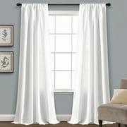 Venetian White Window Curtain Single 54x84
