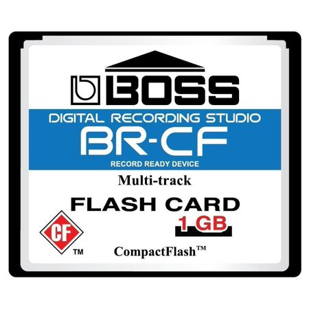 1GB Boss Roland BR-CF CompactFlash CF Memory Card for BR-600, BR-864, BR-900CD, (Best Cf Memory Card)