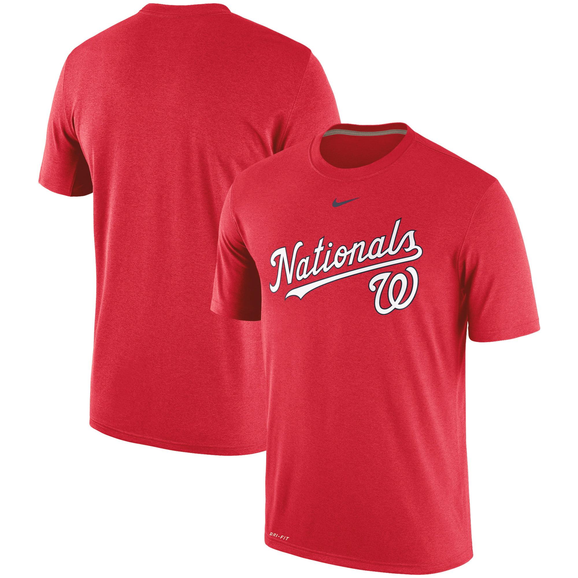 Washington Nationals Nike Legend Primary Logo Performance T-Shirt - Red -  Walmart.com 938088acb