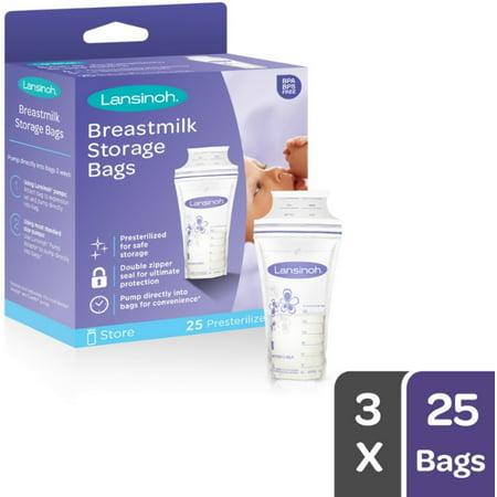 2 Pack - Lansinoh Breastmilk Storage Bags 50 Each
