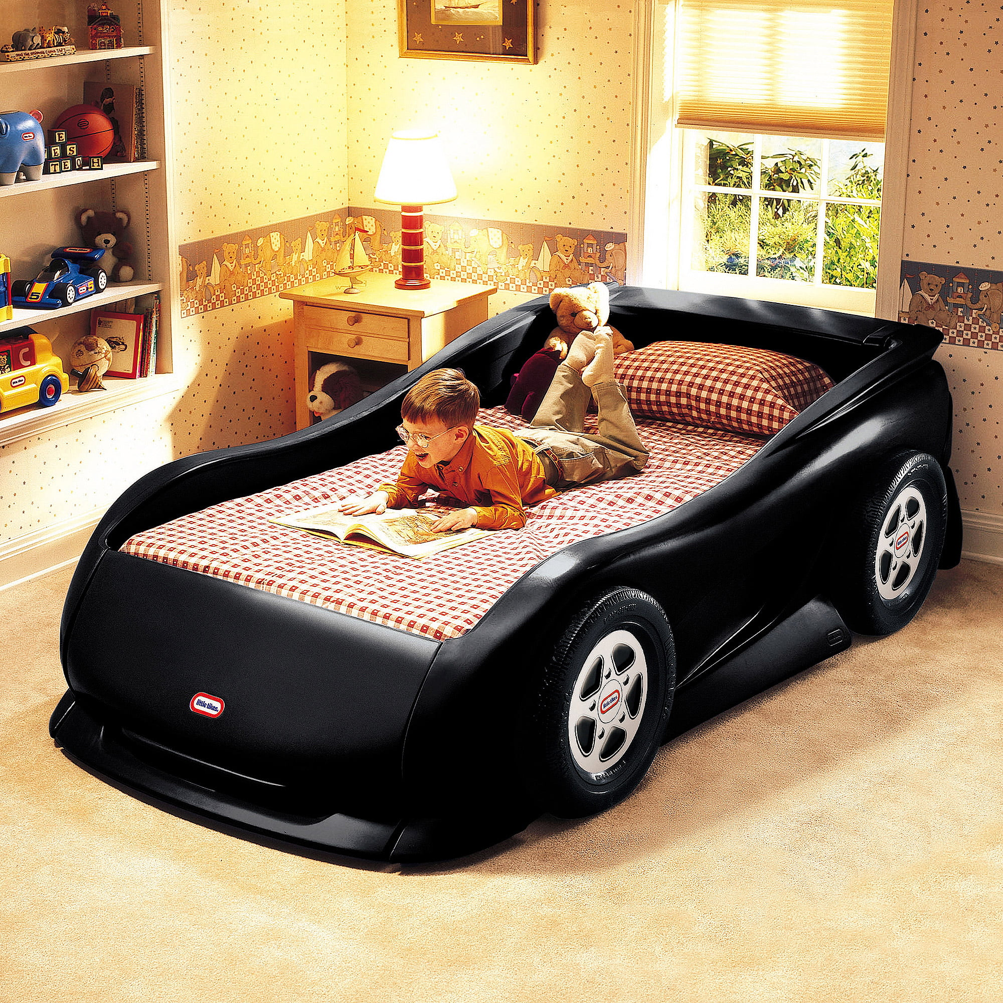 Little Tikes Sports Car Twin Bed Black