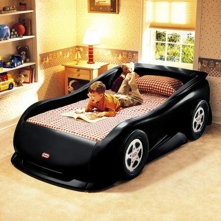 Little Tikes Sports Car Twin Bed Black Walmart Com