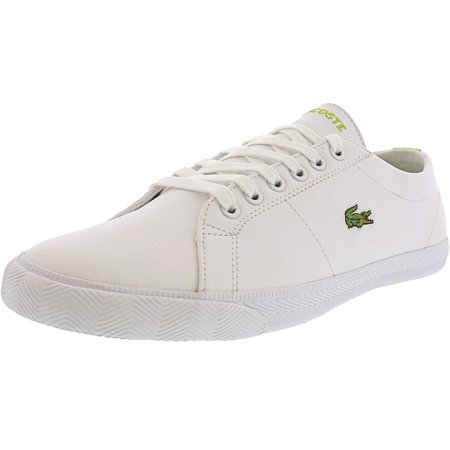 Lacoste Marcel Arf Spj White / Light Green Ankle-High Fashion Sneaker - 6M ()