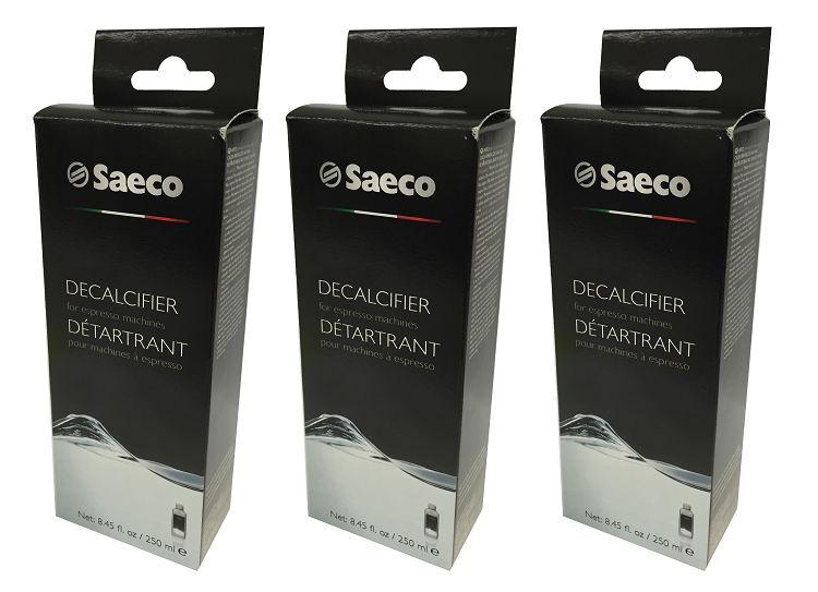 3 Philips Saeco Espresso Machine Decalcifier Descaling CA6700 by
