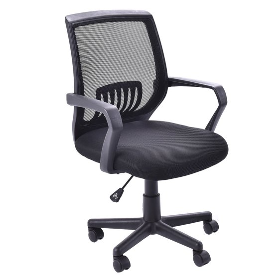 Costway Modern Ergonomic Mid-back Mesh Computer Office