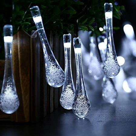 QederTEK Outdoor String Lights LED Solar Lighting Waterproof 40 LED 8 Modes L