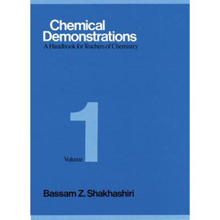 Chemical Demonstrations, Volume 1 : A Handbook for Teachers of Chemistry](Chemistry Demonstrations For Halloween)