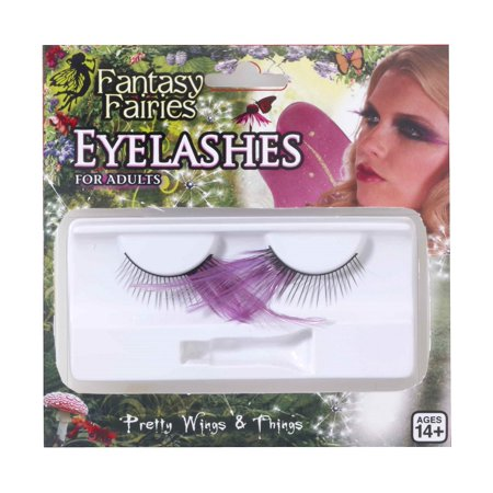 Eye Lashes Spring Fairy Feather Eyelashes Theatrical Costume Accessory - Theatrical Quality Costumes