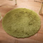 NK Round Rugs Ultra Soft Indoor Area Rugs Fluffy Living Room Carpets Suitable for  Bedroom Children's Room Bathroom Rugs Home Decorate Rugs Grey