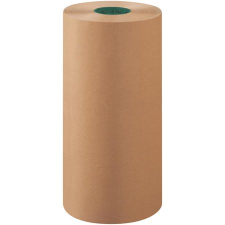 Box Partners Bp1840k 18 In  Kraft Unbleached Butcher Paper Rolls For 40 Lbs Basis Weight